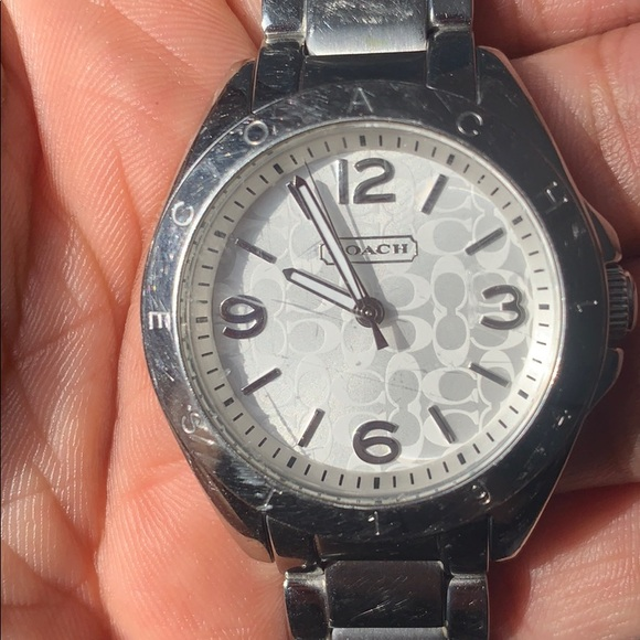 Coach Accessories - Women's stainless steel watch. Used.